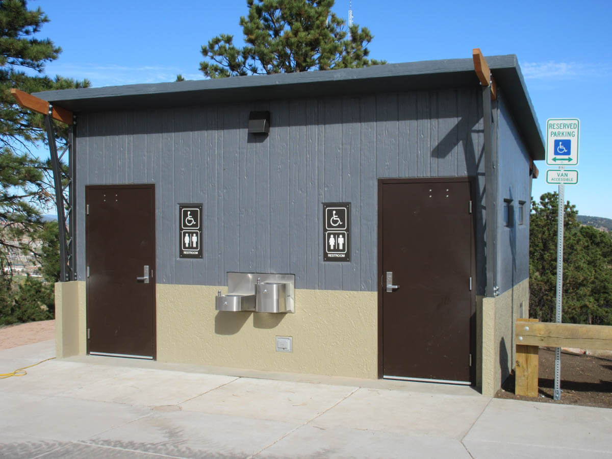 Photo of ADA compliant bathrooms on Skyline Drive in Rapid City.